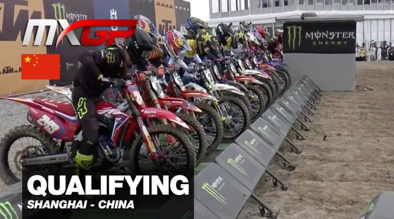 VIDEO: MXGP CINA SHANGAI QUALIFYING HIGHLIGHTS