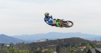 Lorenzo Camporese si allena in California